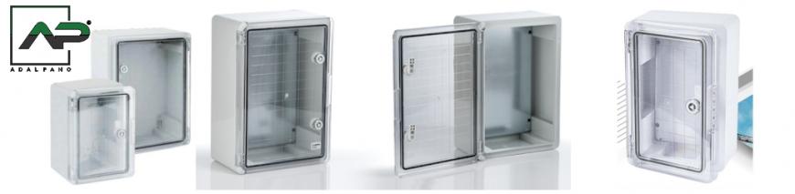 Dulapuri cu ușă transparentă