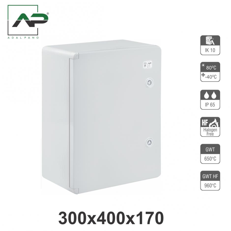 300x400x170, IP65