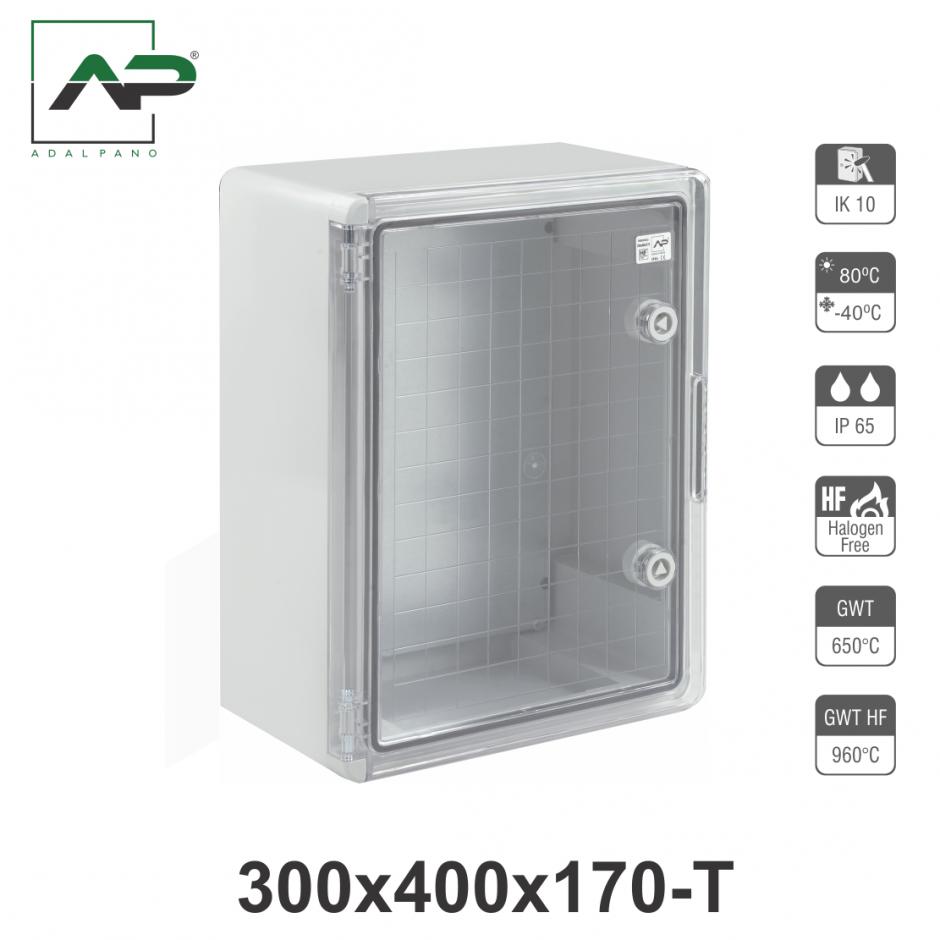 300x400x170-T, IP65