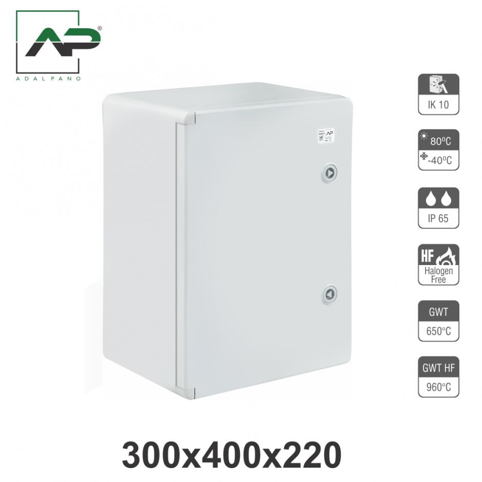 300x400x220, IP65