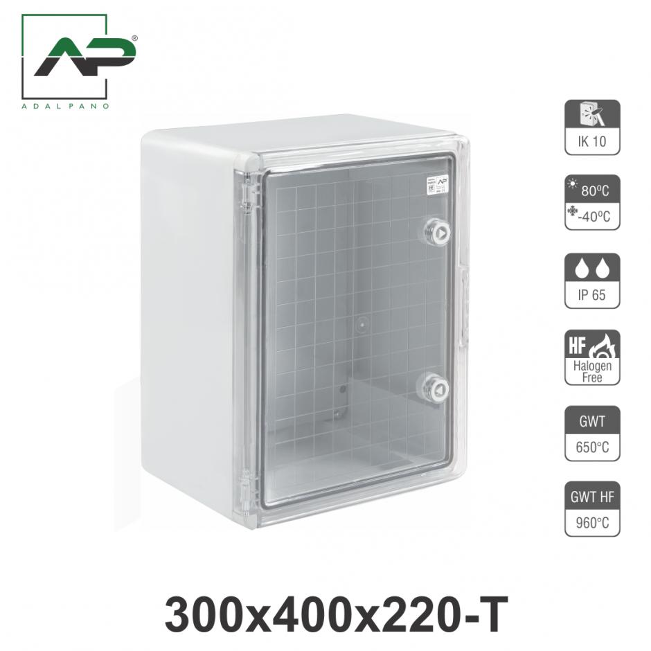 300x400x220-T, IP65