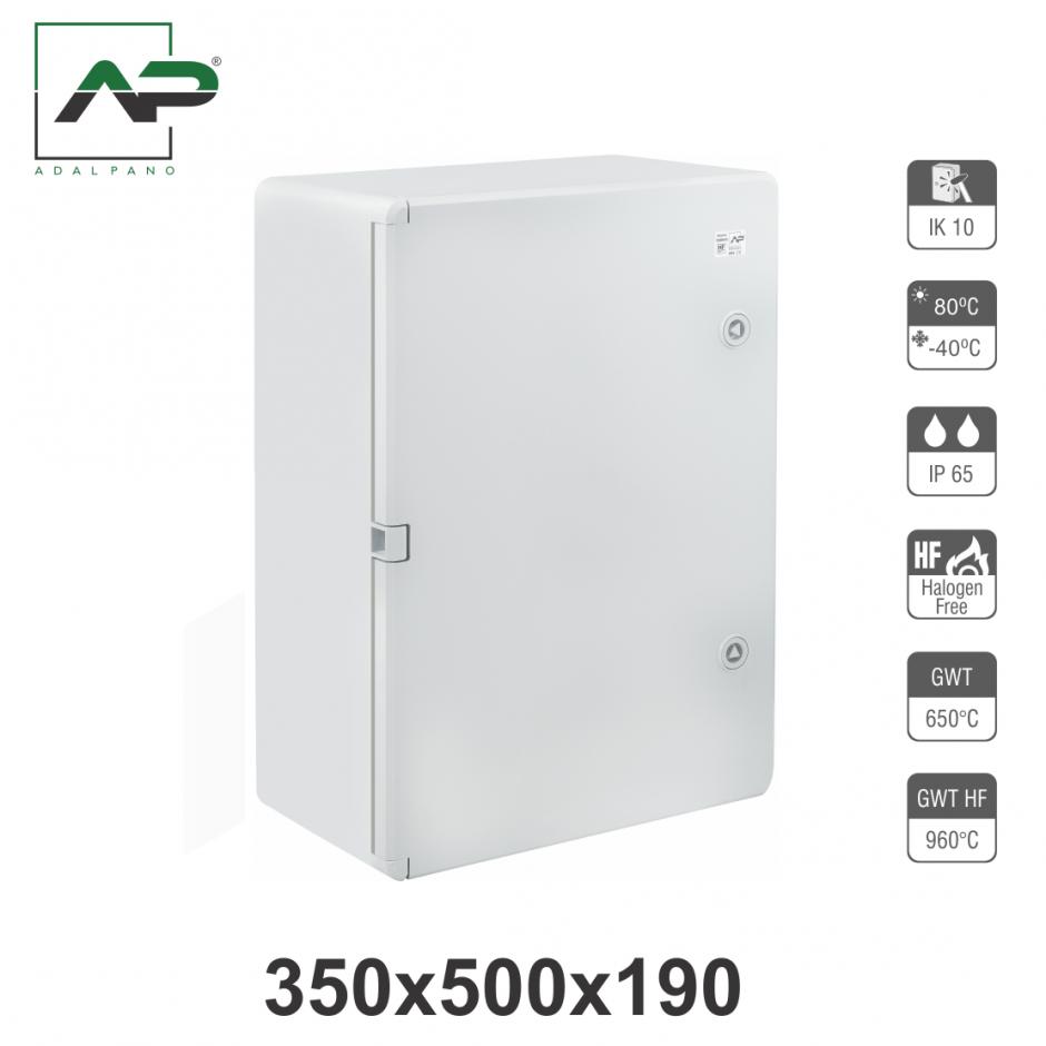 350x500x190, IP65